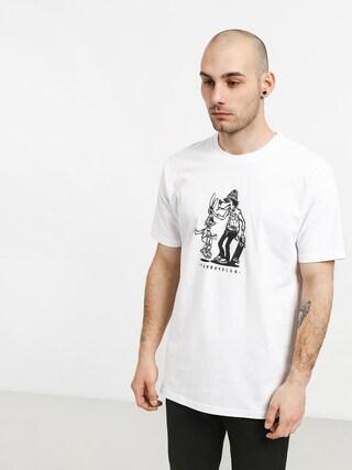 Tričko Turbokolor No Love (white)