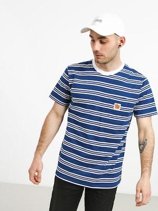 Tričko Turbokolor Stripes Pocket Heinz (blue/white)