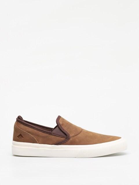 Topánky Emerica Wino G6 Slip On (brown)