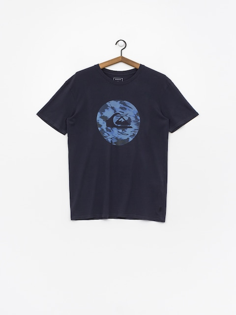 Tričko Quiksilver Quik Circled (blue nights)