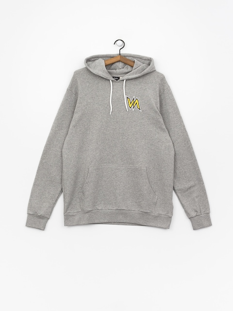 Mikina s kapucňou RVCA Monster HD (heather grey)