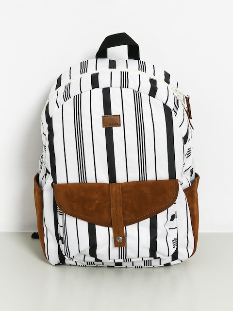 Batoh Roxy Carribean Wmn (marshmallow licorice stripe)