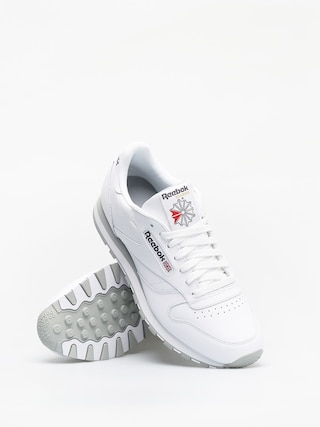 Tenisky Reebok Classic Leather (white/lt grey)