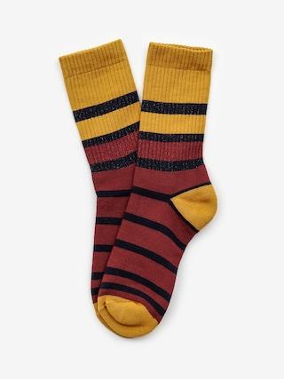Ponožky Malita Bang (navy/maroon)