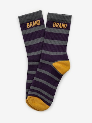 Ponožky Malita Bang (maroon)