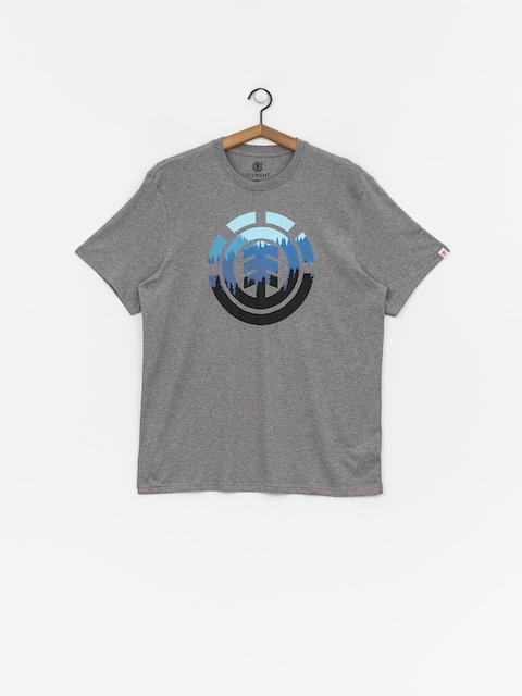 Tričko Element Glimpse Icon (grey heather)