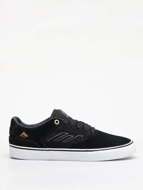 Topánky Emerica The Reynolds Low Vulc (black/gold/white)