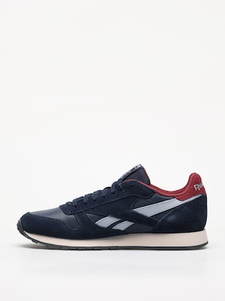 Topánky Reebok Cl Leather Mu (navy/red/stucco/grey)