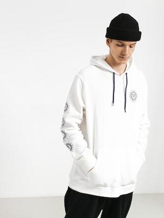 Mikina s kapucňou RVCA Tigre HD (white)