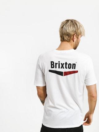 Tričko Brixton Velocity Pkt (white)