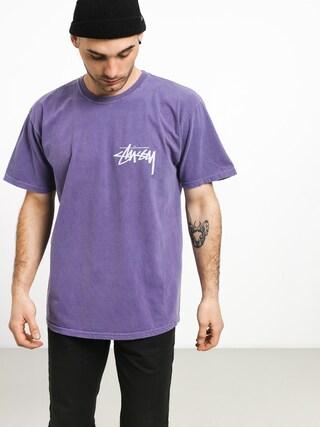 Tričko Stussy Stock Pig. Dyed (purple)