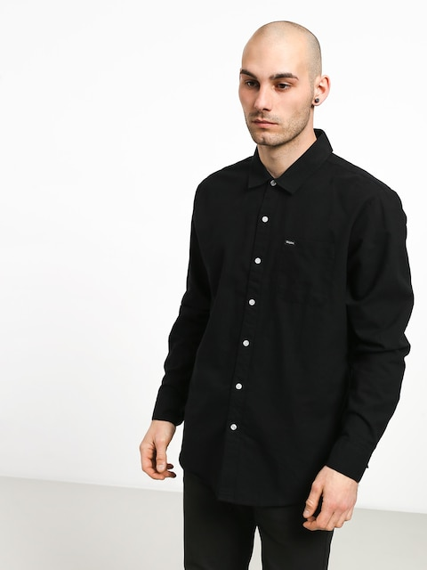 Košeľa Brixton Charter Oxford Wvn (black)