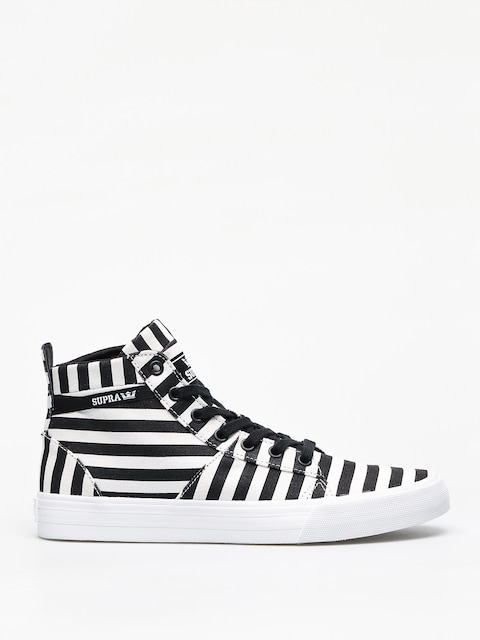 Topánky Supra Stacks Mid (black/white stripe)