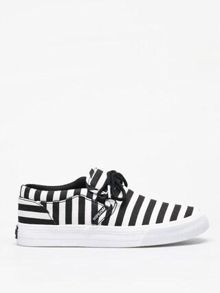 Topánky Supra Cuba (black/white stripe)