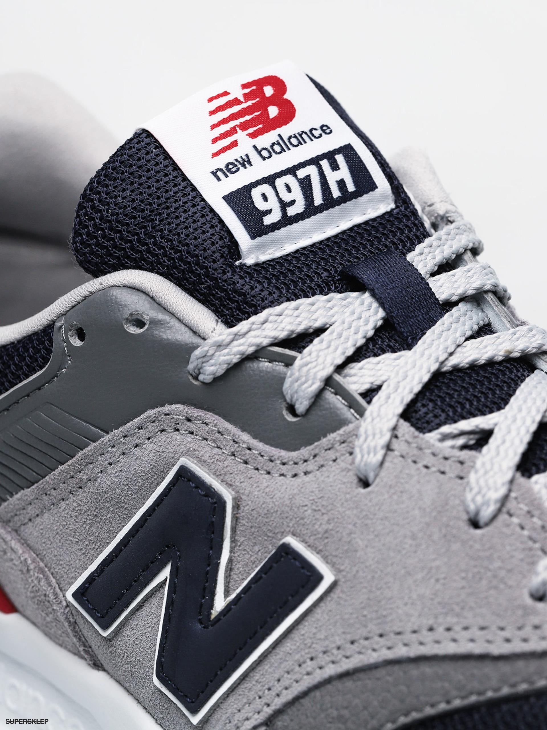 168658ca98be1 Topánky New Balance 997 (team away grey)