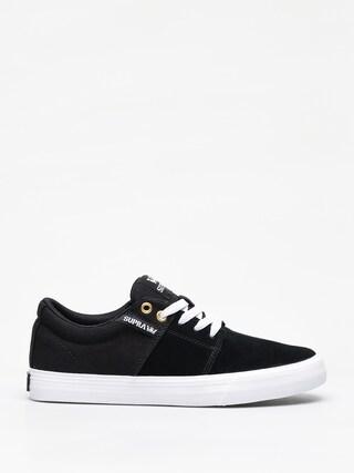 Topánky Supra Stacks Vulc II (black/black white)
