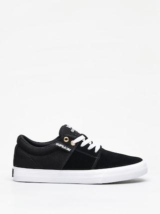 Topu00e1nky Supra Stacks Vulc II (black/black white)