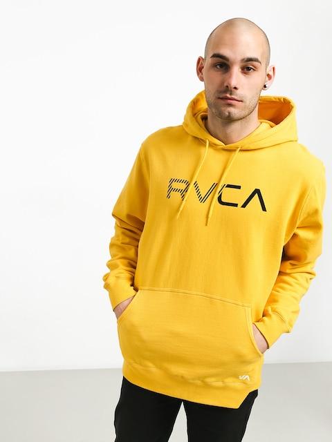 Mikina s kapucňou RVCA Scratched Rvca HD