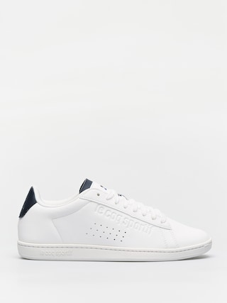 Topánky Le Coq Sportif Courtset Sport (optical white/dress blue)