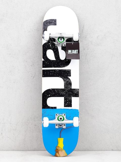 Skateboard Jart Rolling (white/blue)