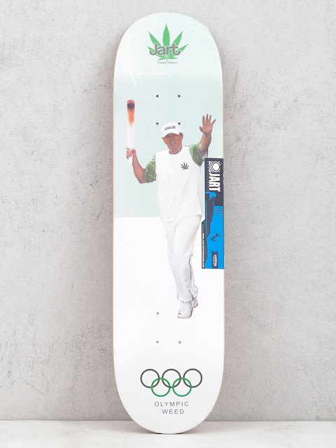 Doska Jart Weed Nation Olympic Weed (green/white)