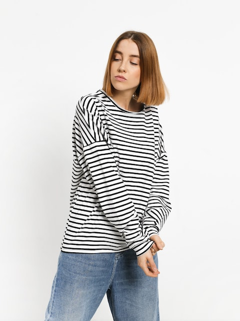 Triko The Hive Stripes Wmn (white/black)