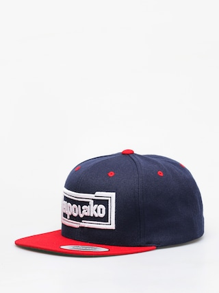 Šiltovka El Polako Cut ZD (navy/red)