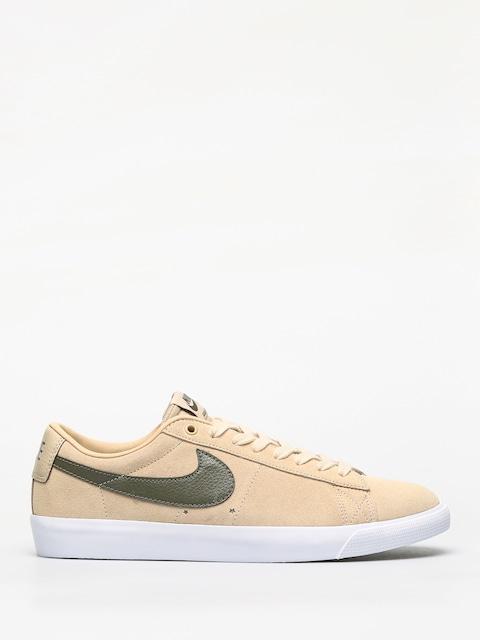 Topánky Nike SB Blazer Low Gt (desert ore/medium olive)