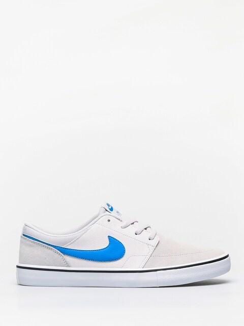 Topánky Nike SB Sb Solarsoft Portmore II (vast grey/lt photo blue vast grey black)