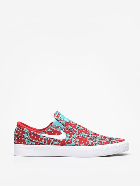 Topánky Nike SB Zoom Janoski Slip Rm Cnvs (cabana/white desert ore university red)