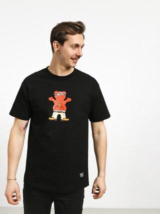 Tričko Grizzly Griptape Thug Bear (black)