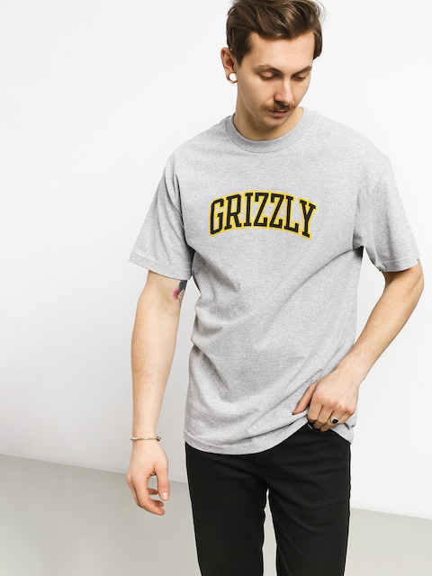Tričko Grizzly Griptape University (grey heather)