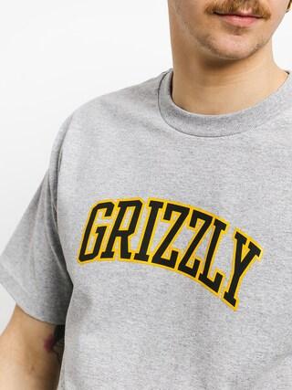 Tričko Grizzly Griptape University (grey heather)