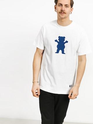 Tričko Grizzly Griptape Og Bear (white)