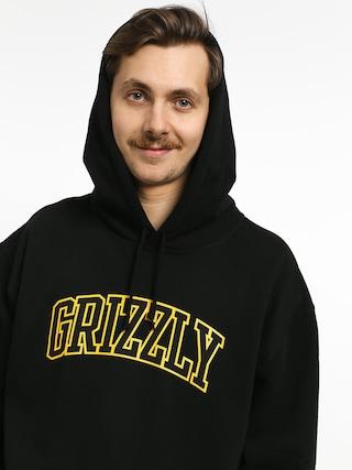 Mikina s kapucňou Grizzly Griptape University HD (black)
