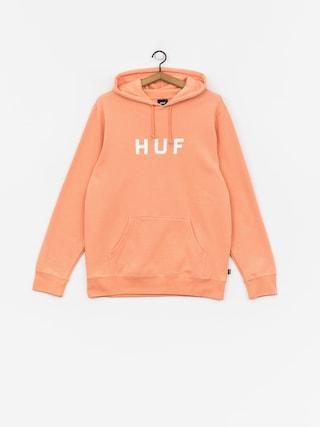 Mikina s kapucňou HUF Essentials Og Logo HD (canyon sunset)