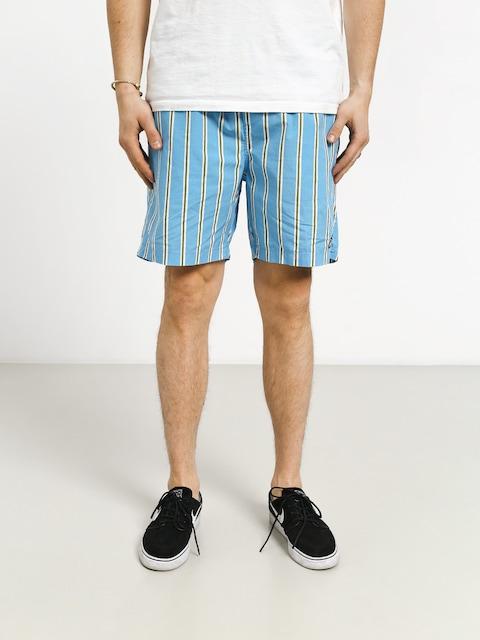 Kraťasy OBEY Easy Stripe (stripe blue/multi)