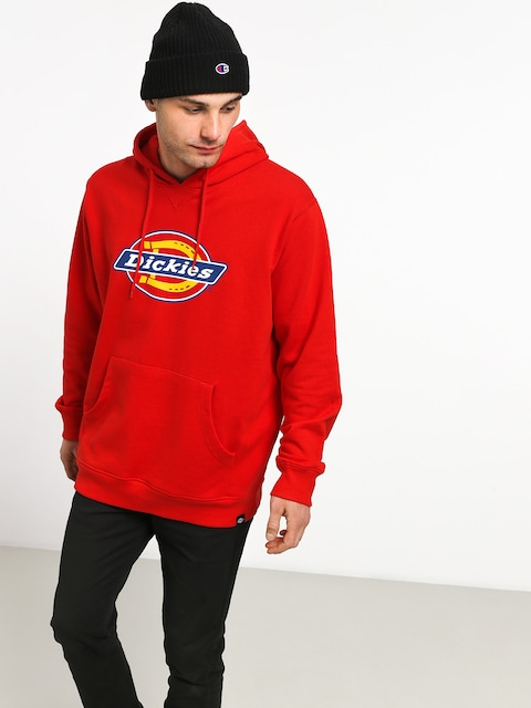 Mikina s kapucňou Dickies Nevada HD (fiery red)