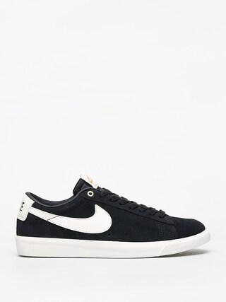 Topu00e1nky Nike SB Blazer Low Gt (black/sail)
