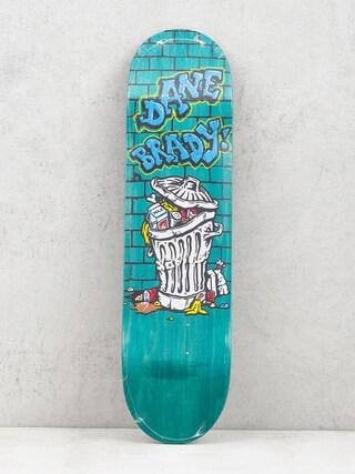 Doska Polar Skate Dane Brady Trash Can (teal)