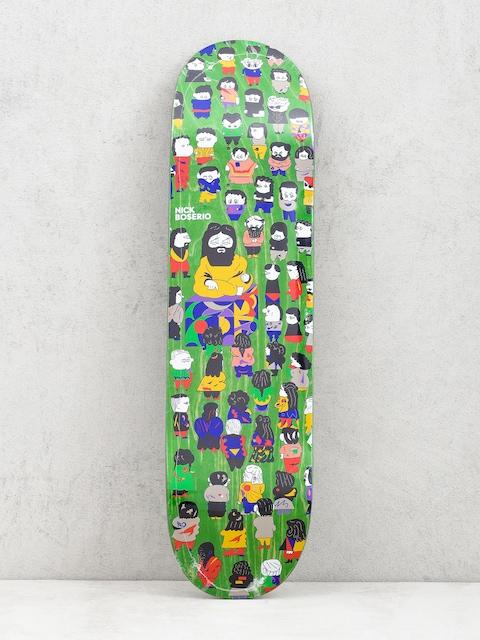 Doska Polar Skate Nick Boserio False Prophets (light green)