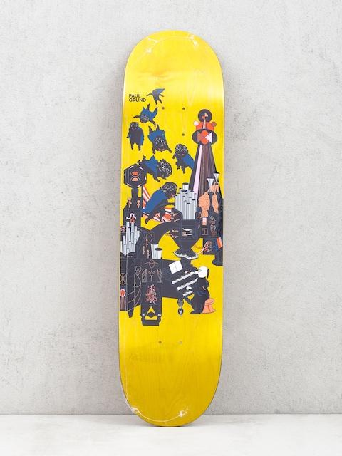 Doska Polar Skate Paul Grund Fortissimo (yellow)