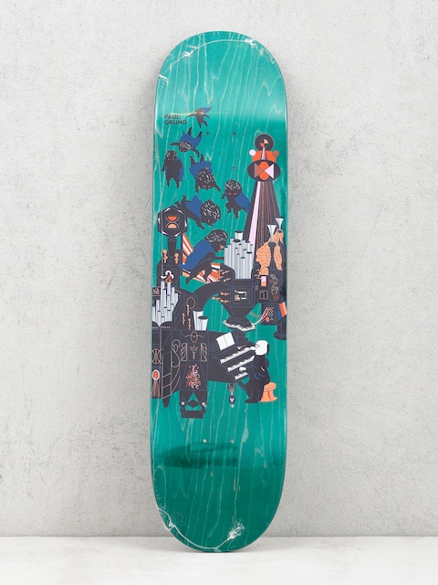 Doska Polar Skate Paul Grund Fortissimo (green)