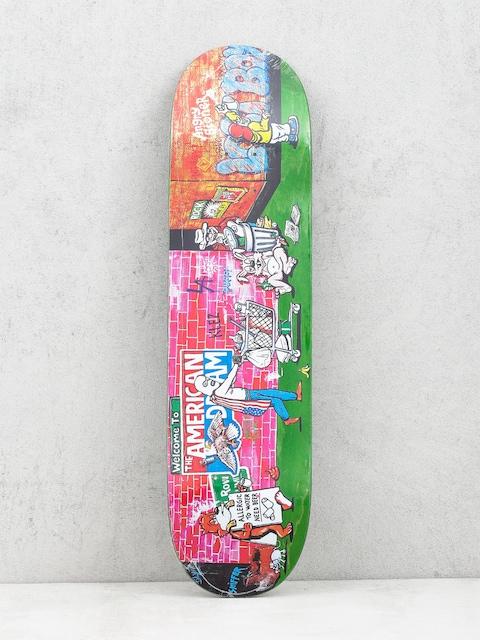 Doska Polar Skate Klez Skid Row (light green)
