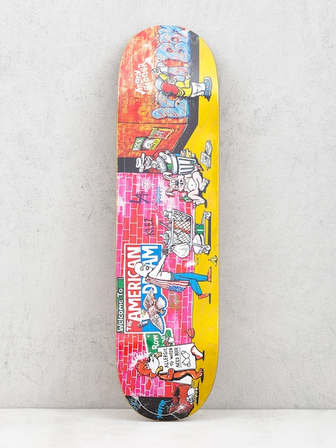 Doska Polar Skate Klez Skid Row (yellow)