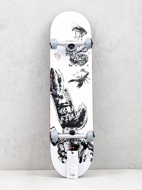 Skateboard Globe G1 Hard Luck (white/black)