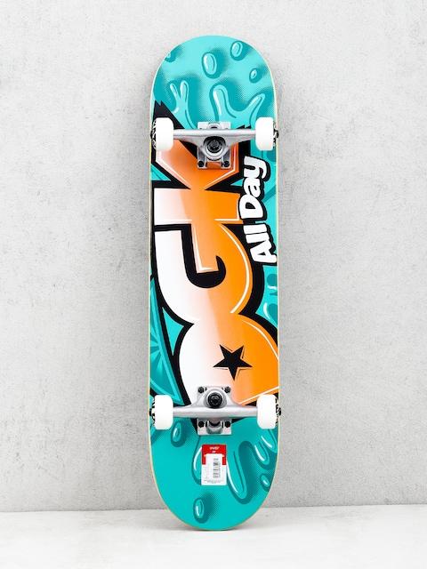 Skateboard DGK Splash (mint/orange)