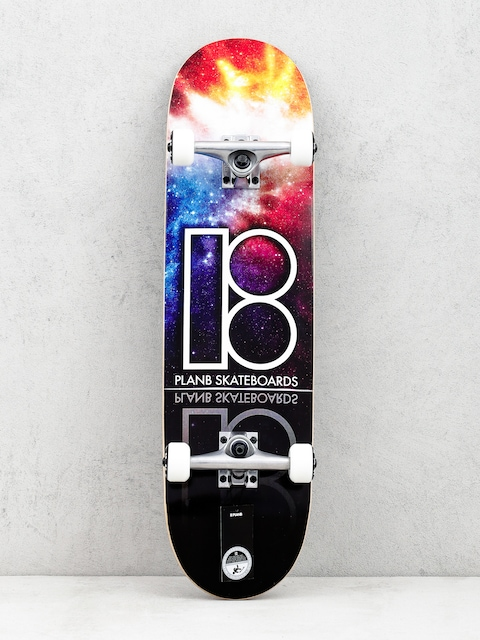 Skateboard Plan B Nebula (multi)