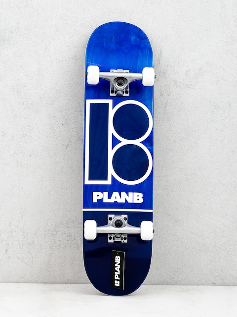 Skateboard Plan B Blue Stain (navy)