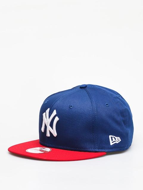 Šiltovka New Era Mlb Cotton Bl New York Yankees ZD (royal/red)